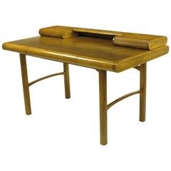 Rare Bert England East Indian Laurel and Ash Postmodern Writing Desk