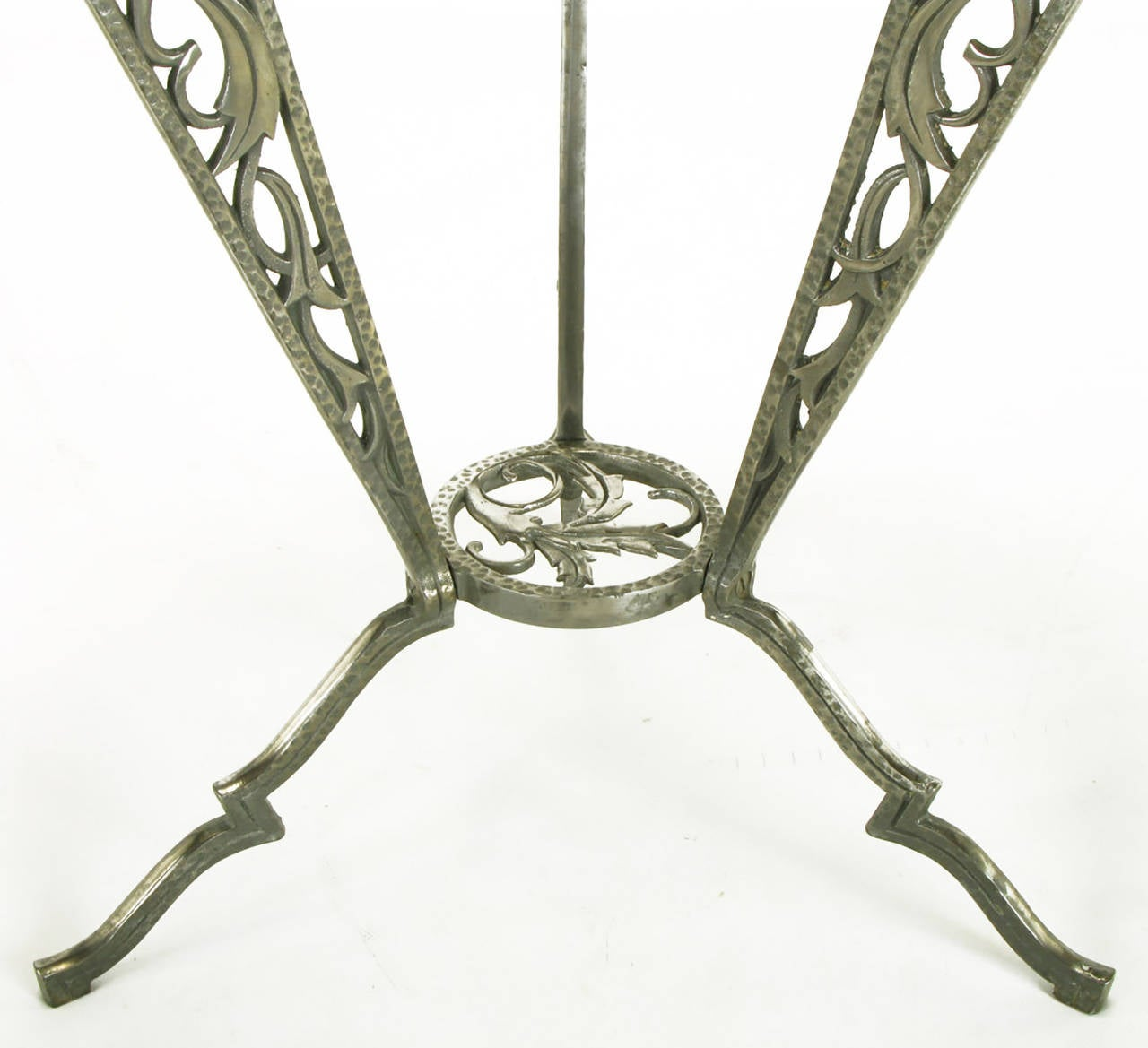 Rena Rosenthal Cast Metal Art Deco Table For Sale 1