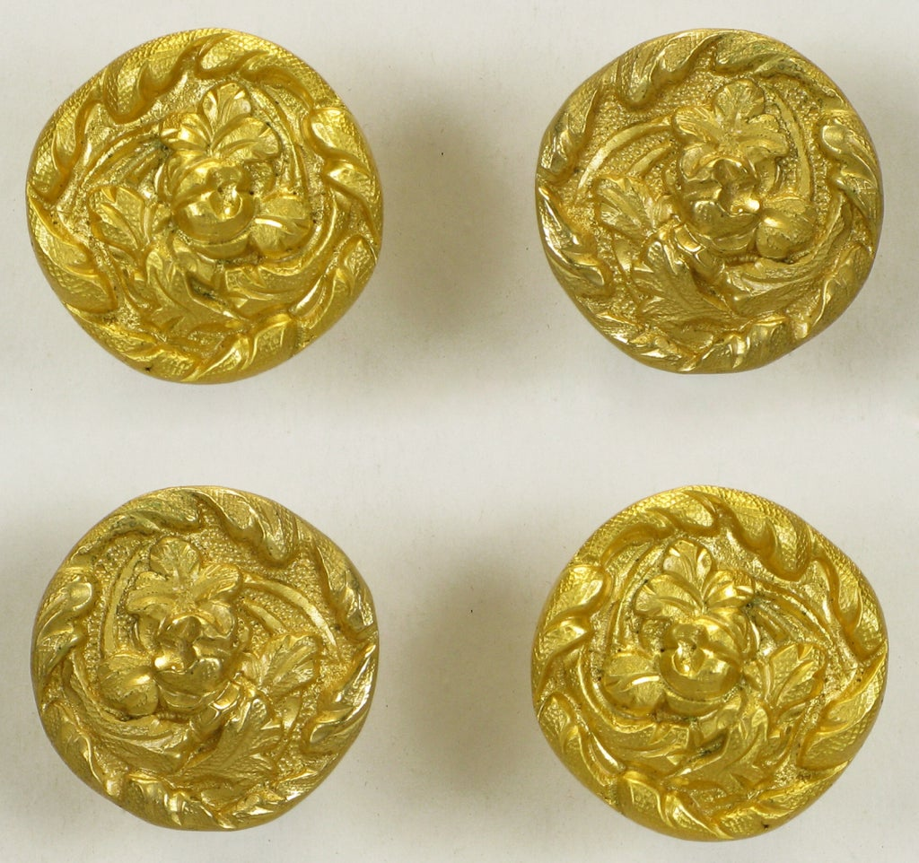 Collection Of Vintage Sherle Wagner Gold Plated Bronze Pulls 7