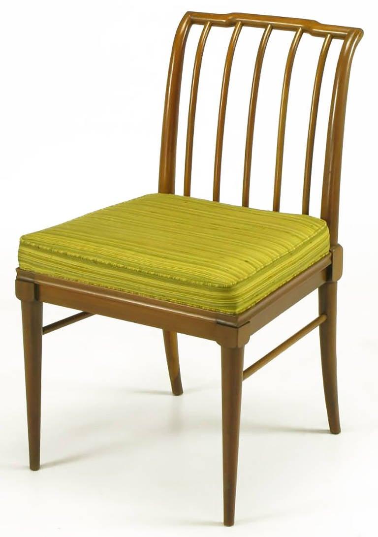American Six J. Stuart Clingman Dining Chairs by John Widdicomb For Sale