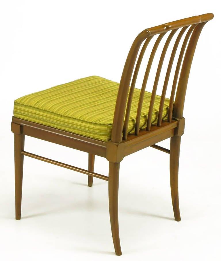 Mid-20th Century Six J. Stuart Clingman Dining Chairs by John Widdicomb For Sale
