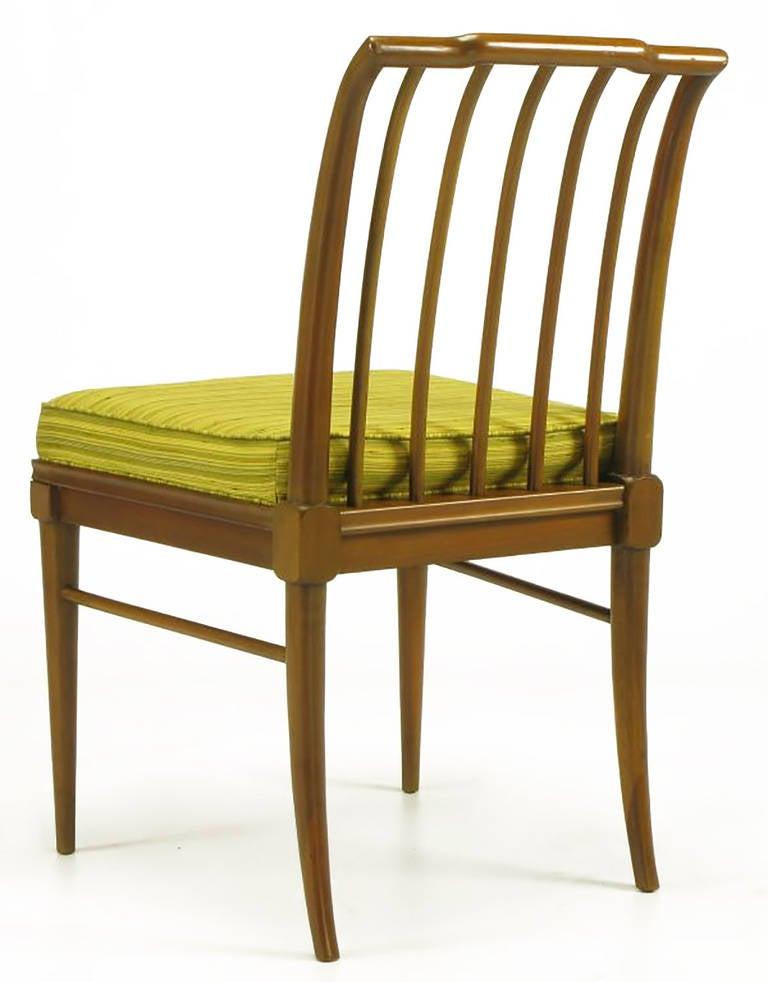Six J. Stuart Clingman Dining Chairs by John Widdicomb For Sale 1