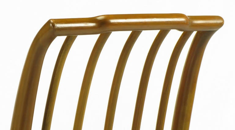 Six J. Stuart Clingman Dining Chairs by John Widdicomb For Sale 2