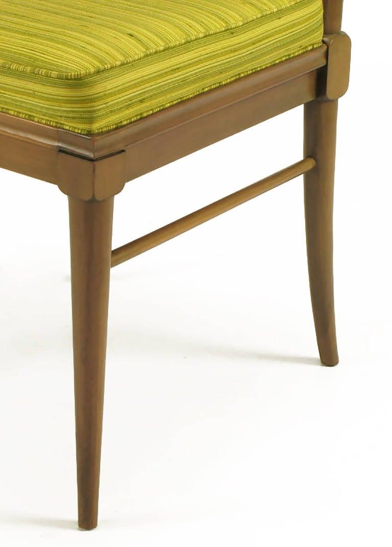 Six J. Stuart Clingman Dining Chairs by John Widdicomb For Sale 3