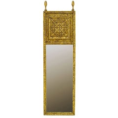 French Gilt Cartouche Mirror For Sale At 1stdibs