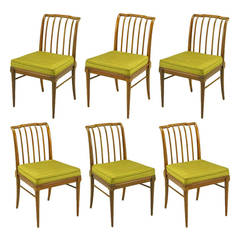 Six J. Stuart Clingman Dining Chairs by John Widdicomb