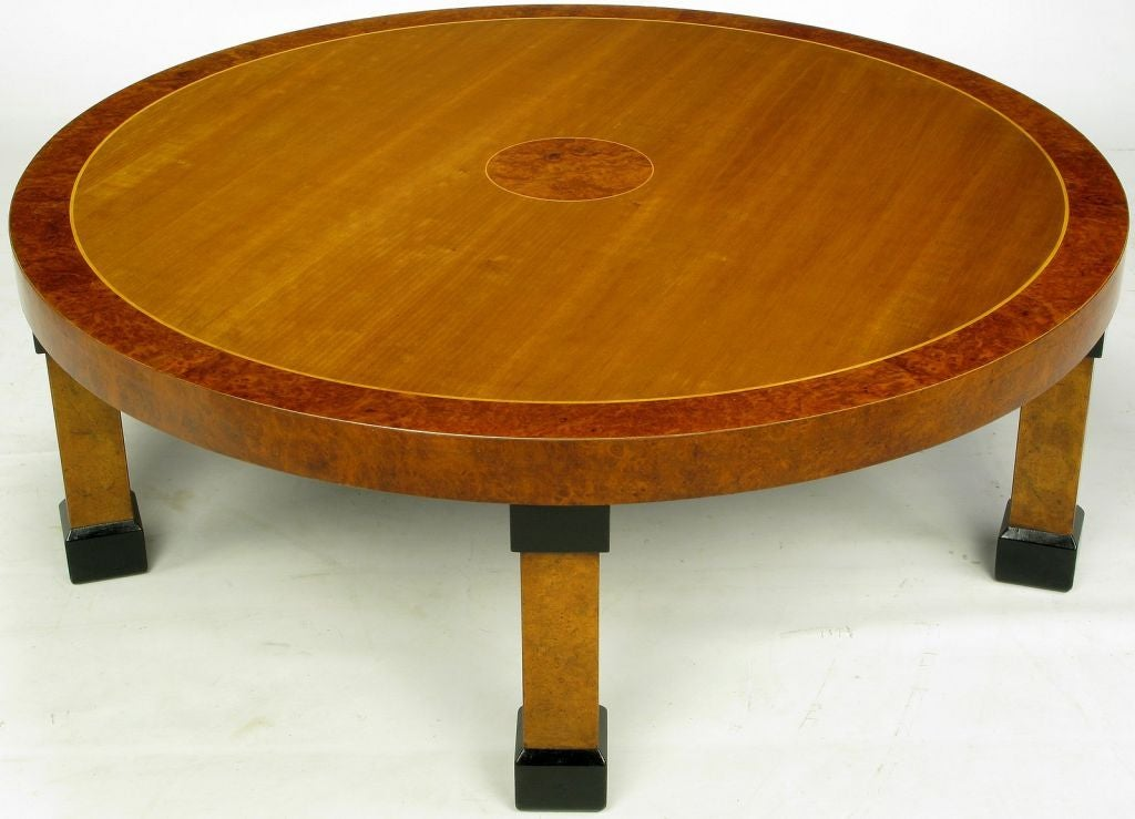 American Large Baker Postmodern Five-Leg Coffee Table For Sale