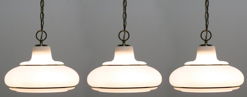 three white opal glass brass pendant lights light kitchen fixture hanging