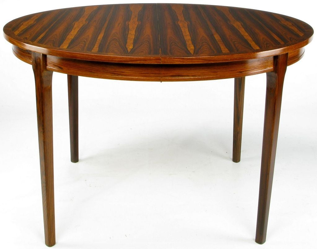 Exceptional Studio Built Round Rosewood Dining Table at  : 841913440318224 from 1stdibs.com size 1023 x 803 jpeg 72kB