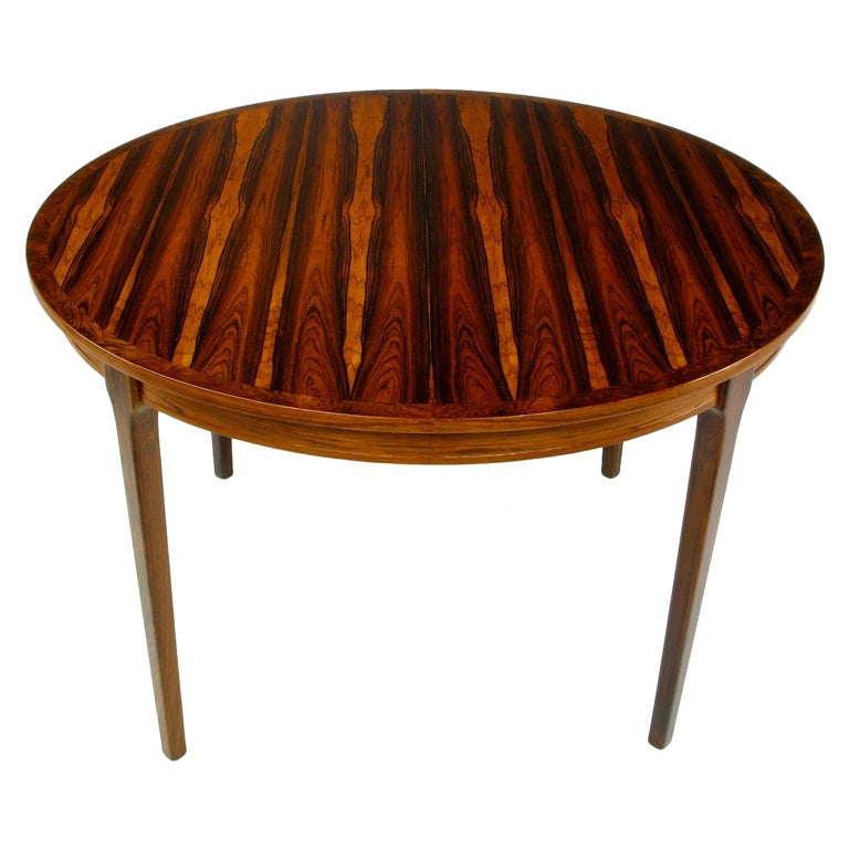 Exceptional Studio Built Round Rosewood Dining Table at  : XXX841913440318221 from www.1stdibs.com size 768 x 768 jpeg 60kB