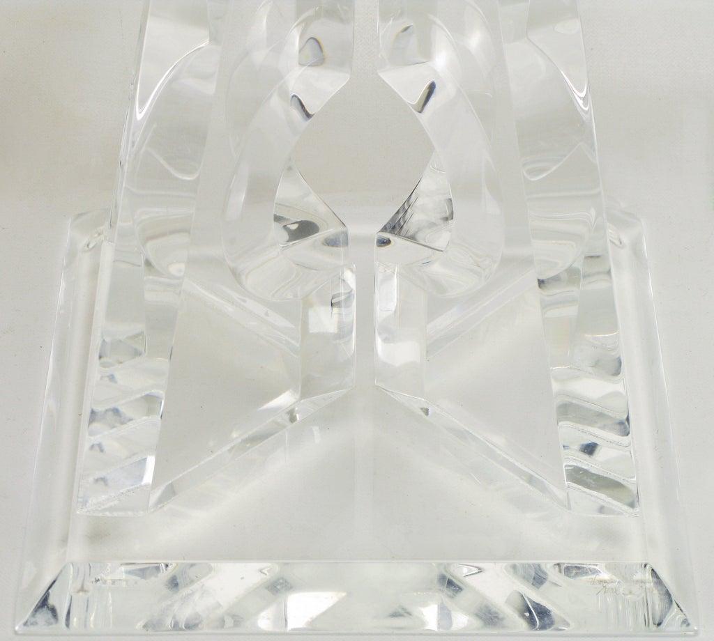 Hivo Van Teal Pyramidal Acrylic Sculpture For Sale 1