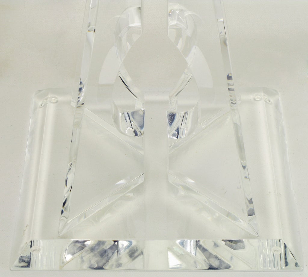 Hivo Van Teal Pyramidal Acrylic Sculpture For Sale 2