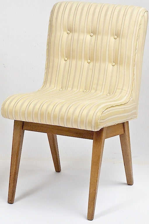 American Pair 1940s Side Chairs For Sale