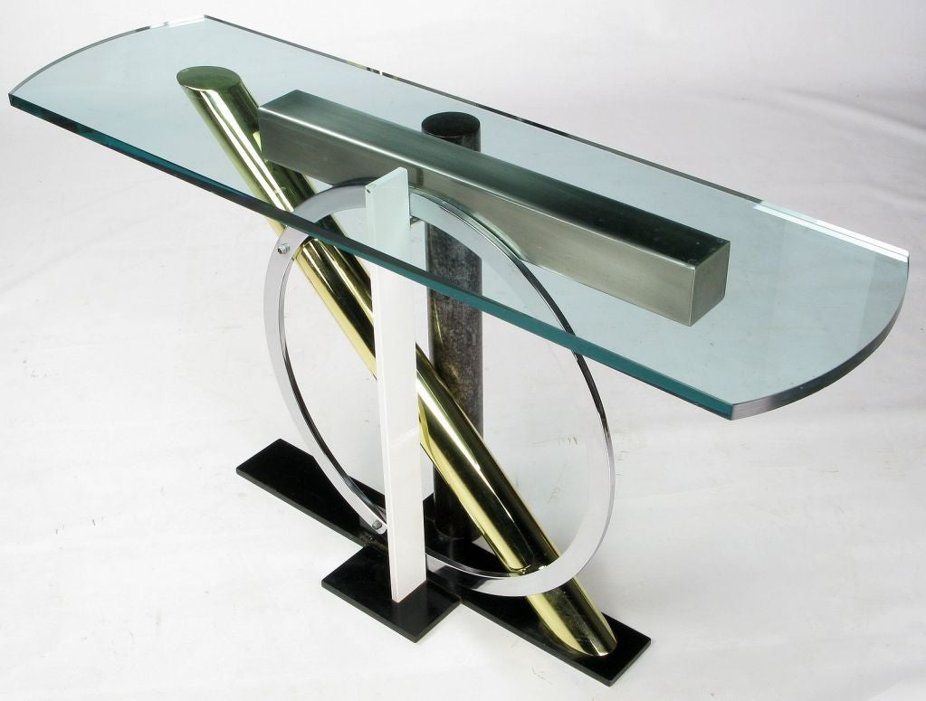 Kaizo Oto for Design Institute America Console Table For Sale 1