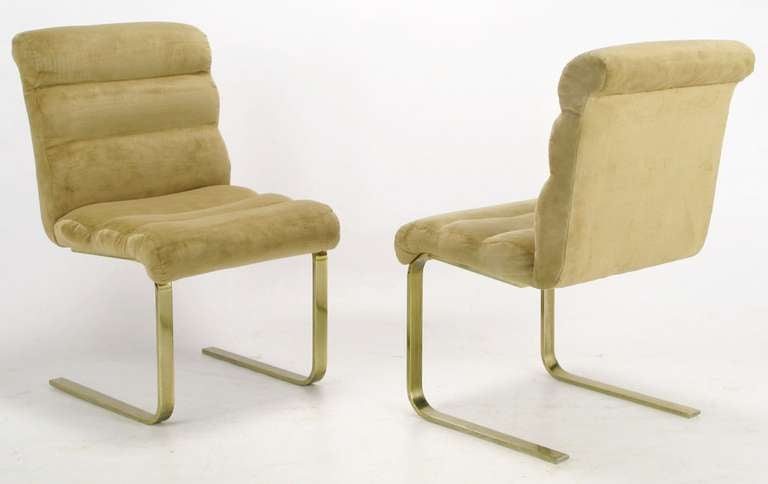 Four Lugano Dining Chairs By Mariani For Pace 3