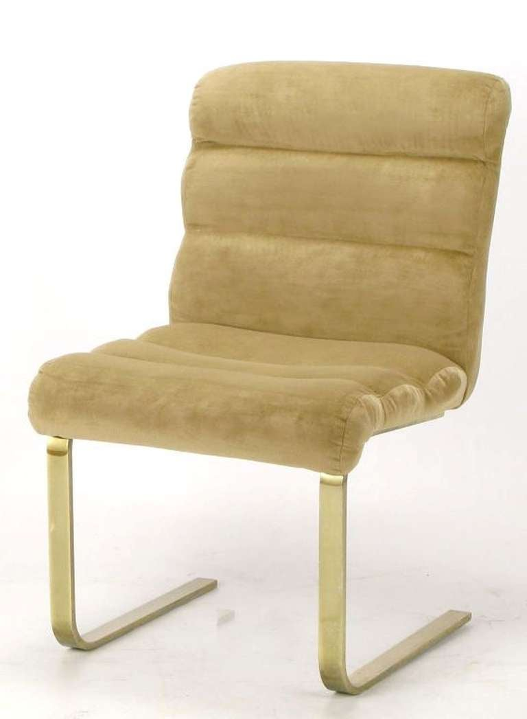 Four Lugano Dining Chairs By Mariani For Pace 6
