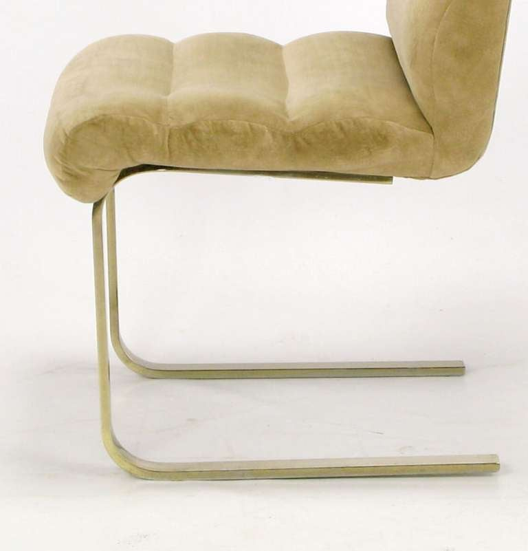 Four Lugano Dining Chairs By Mariani For Pace 9