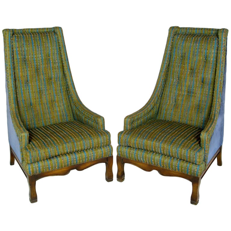 tall back arm chairs