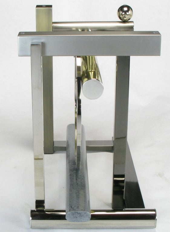 Design Institute America Metal Sculpture Dining Table For Sale 4