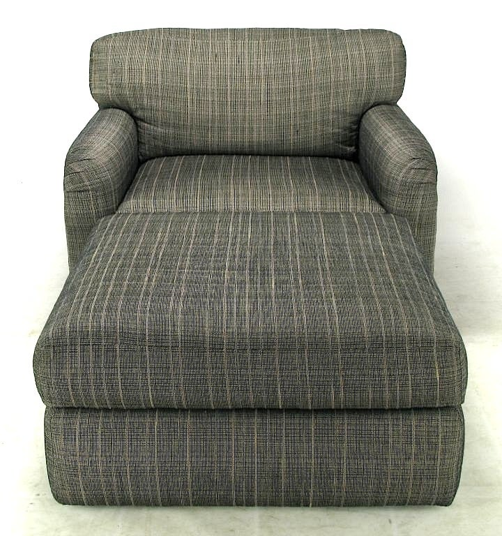 Jay Spectre Studio Club Chair And Ottoman For Sale At 1stdibs