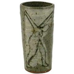 Bernard Chaet (American, 1924-2012) Studio Pottery Vase