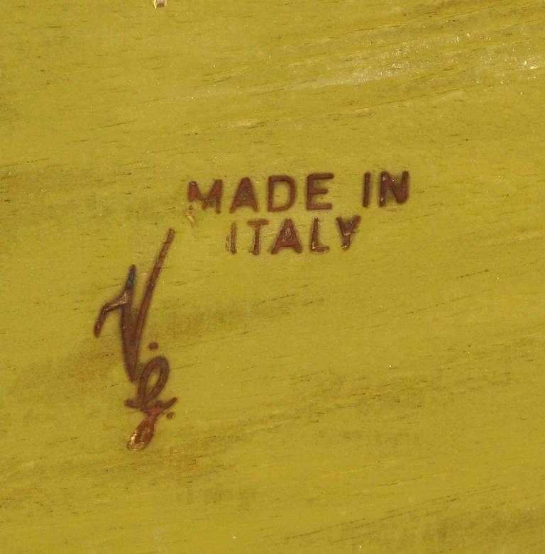 Italian Walnut Drop-Front Bombe Secretary in Louis XV Style For Sale 6