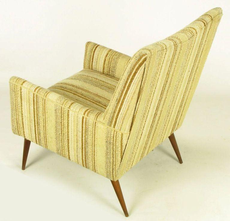 Paul McCobb High Back Lounge Chair at 1stdibs