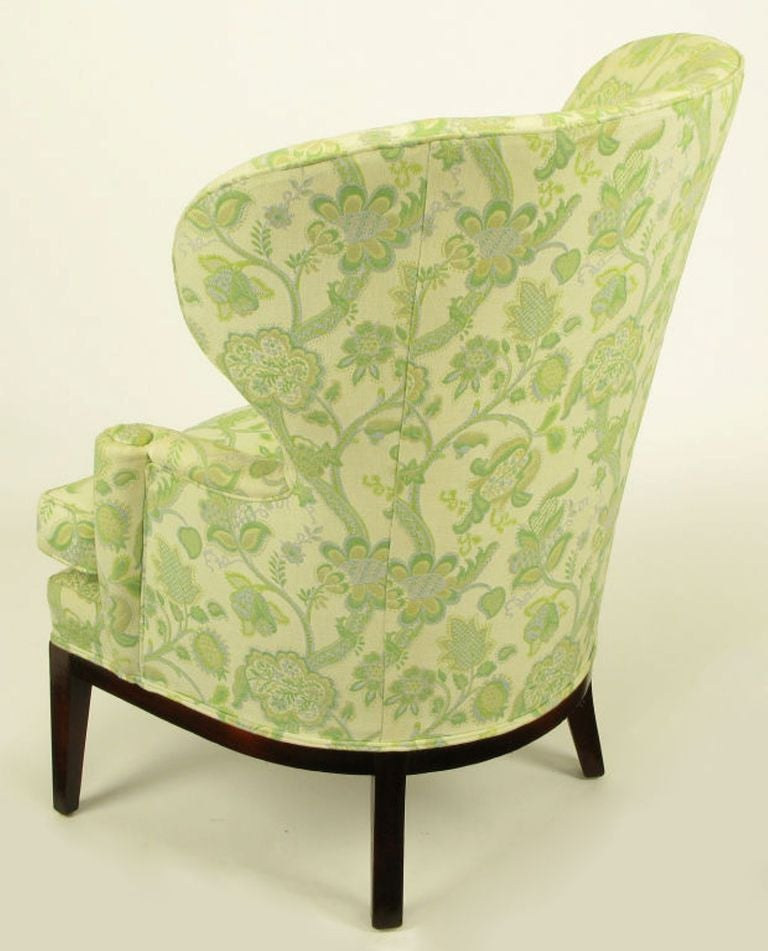 Rare 1940 edward wormley wing chair for dunbar at 1stdibs - Edward wormley chairs ...