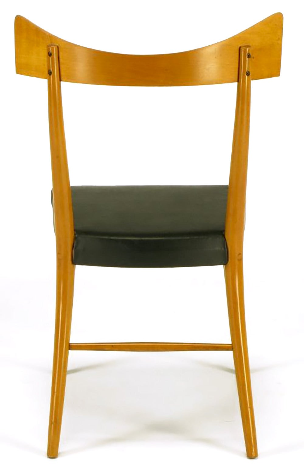 Four Paul Mccobb Winchendon Open Back Dining Chairs For