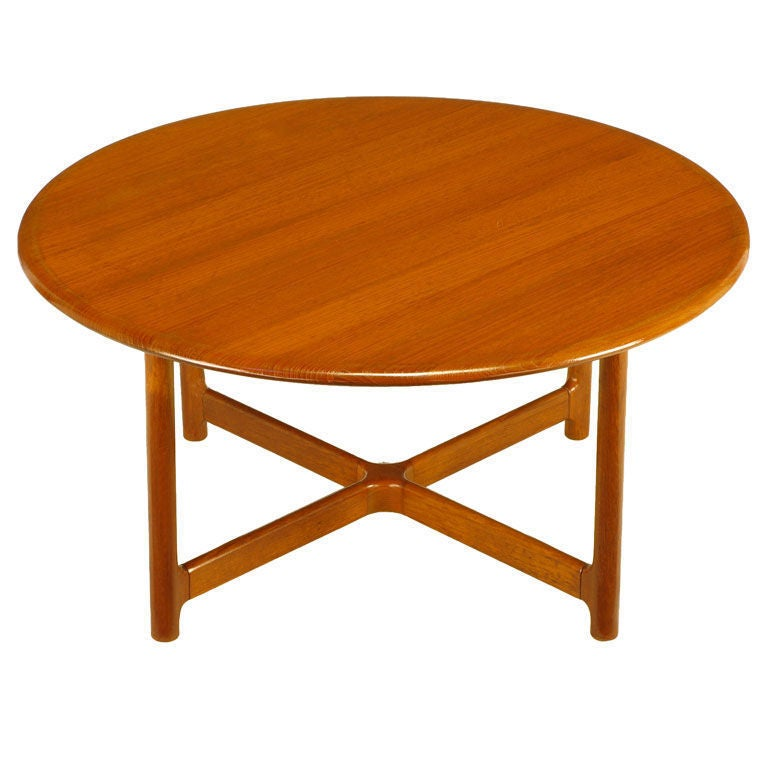 Arne Halvorsen Teak Coffee Table For Rasmus Solberg 1