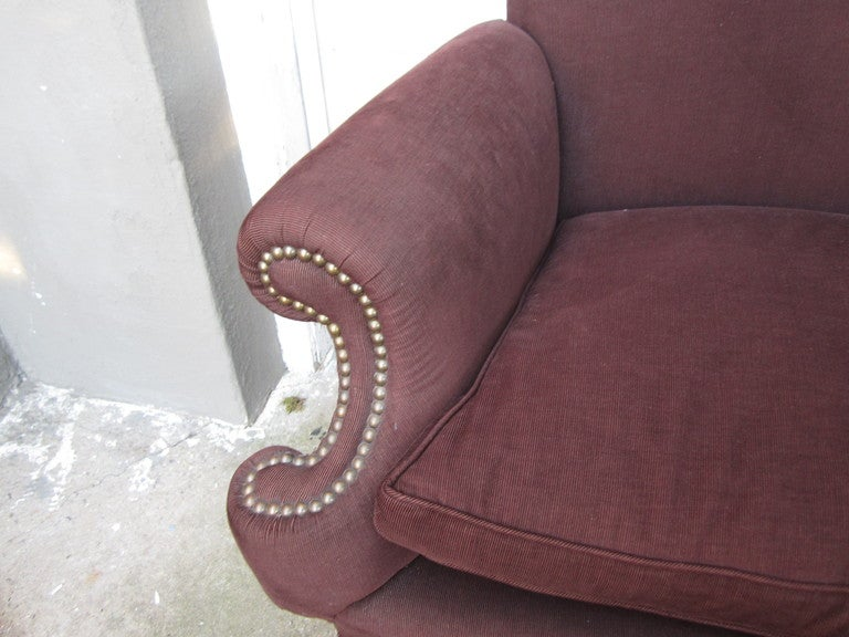 American Os Du Mouton Style Settee For Sale