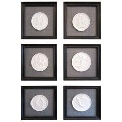 Royal Copenhagen Set of Framed Plaques