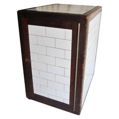 Porcelain and Wood Humidor