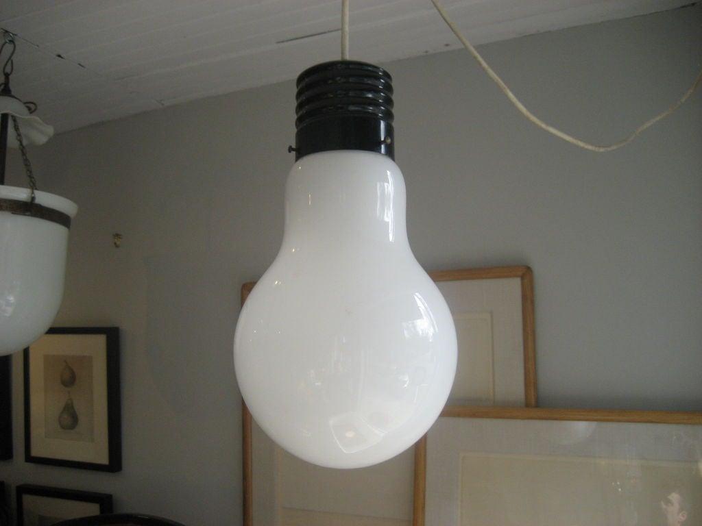 Giant Light Bulb Lamp Ingo Maurer Light Bulb Pendant At 1stdibs