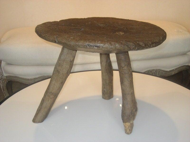 19th Century 3 Legged Milk Stool At 1stdibs