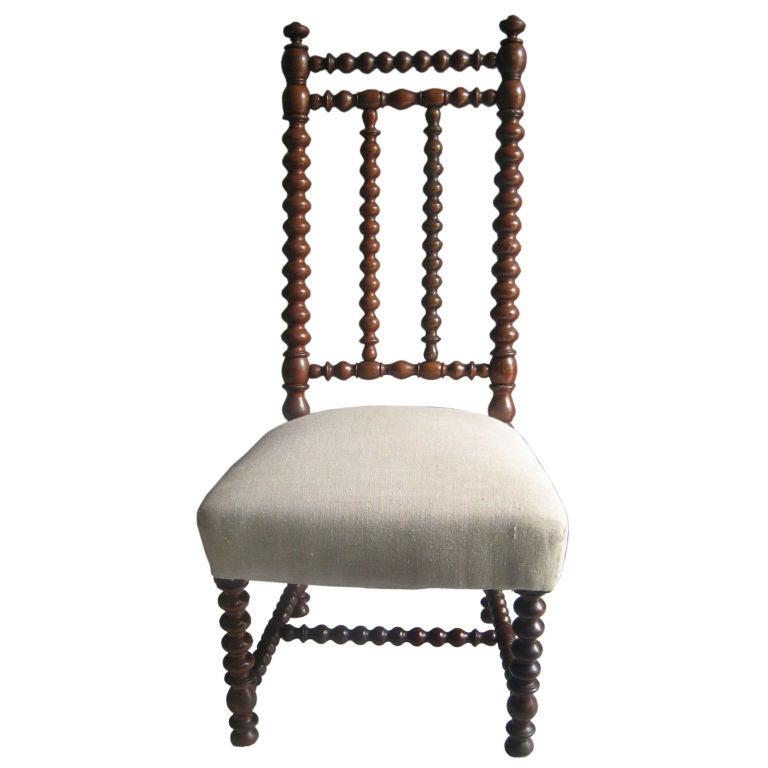 Antique Spool Chair