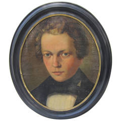 19th C. Portrait of a Boy