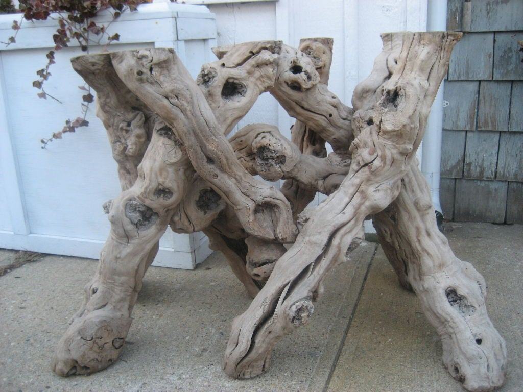 this driftwood table base is no longer available