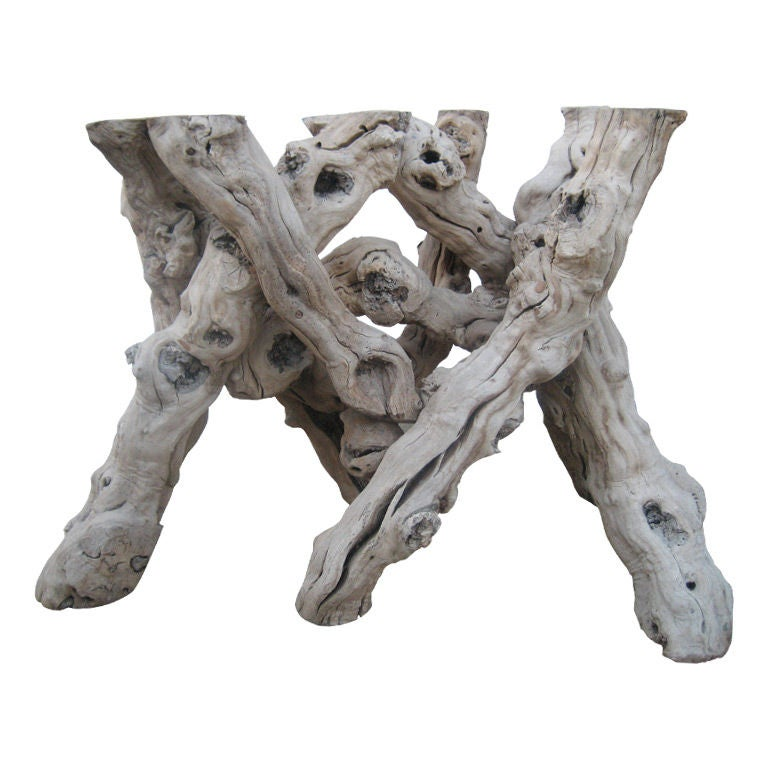 driftwood table bases related keywords