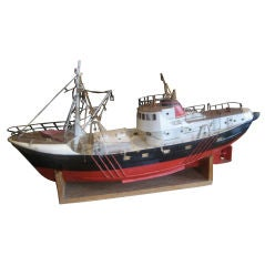 Great Old Model Boat