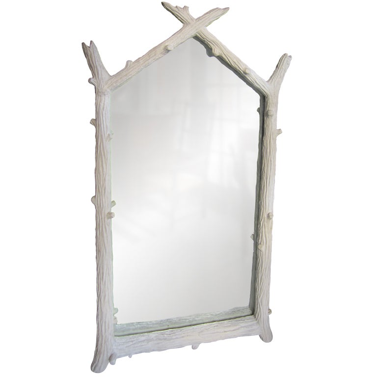 John Dickinson Plaster Twig Mirror 1