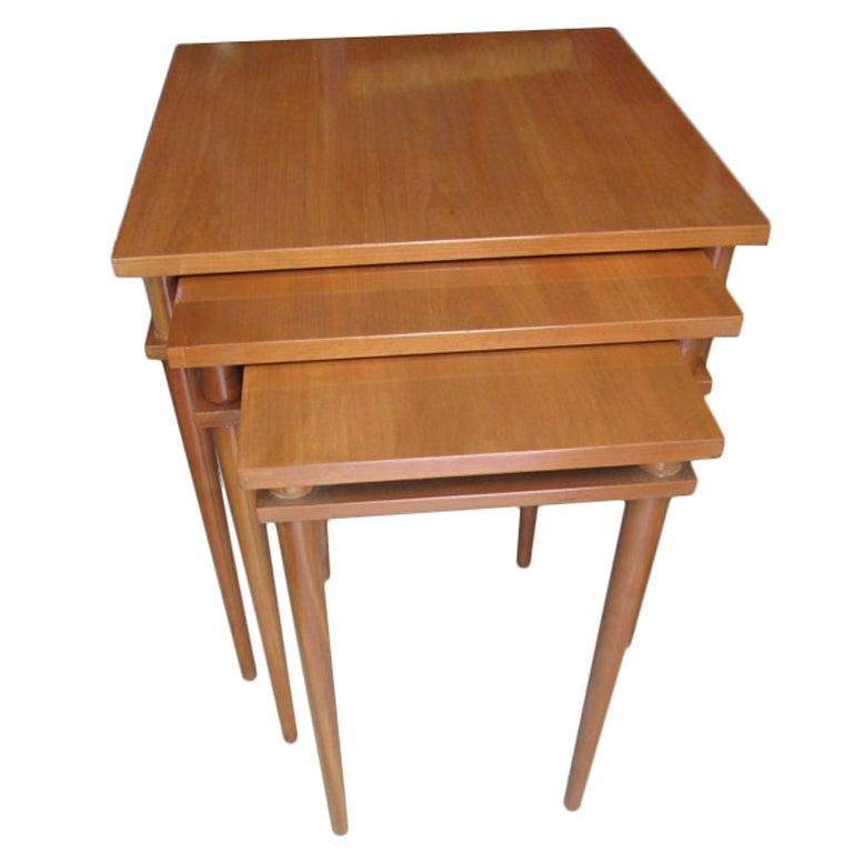 Robsjohn-Gibbings for Widdicomb Nesting Tables