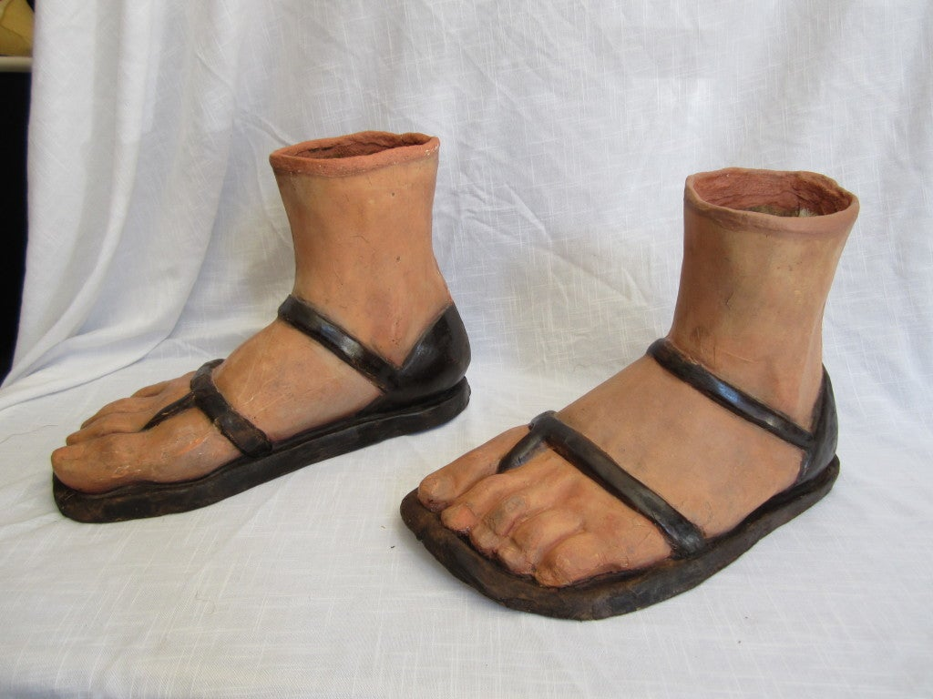 19th Century Papier M Ch Feet For Sale At 1stdibs