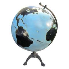 Oversize Painted Globe