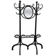 Thonet Hall Tree with Mirror