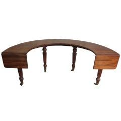 English Hunt Table 19th Century