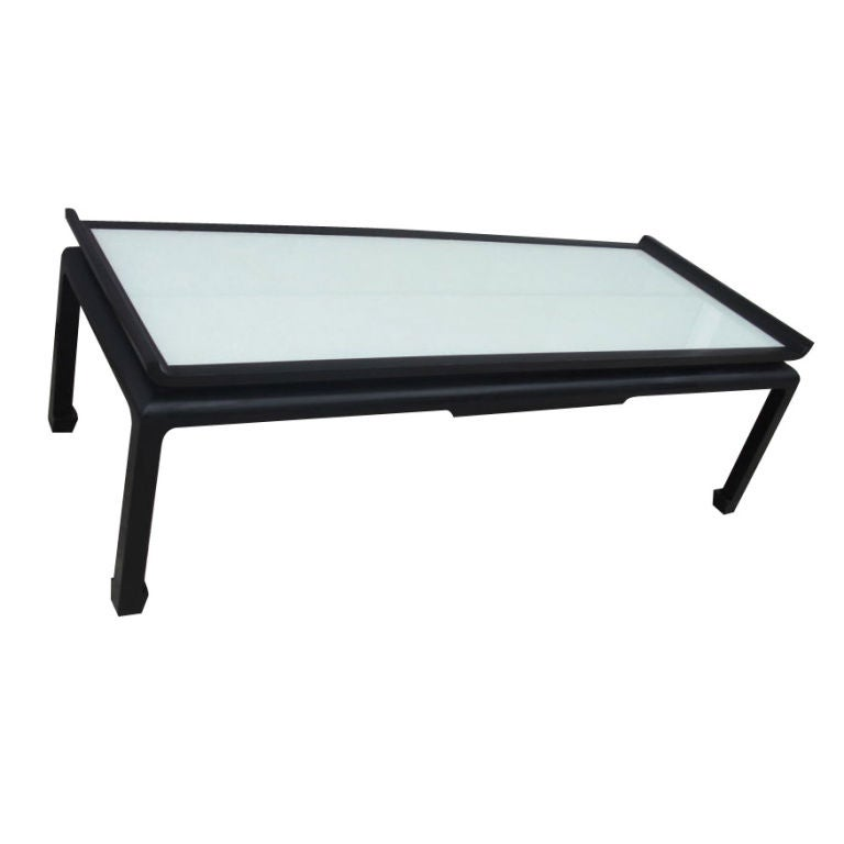 Large 1950 39 S Asian Style Coffee Table At 1stdibs
