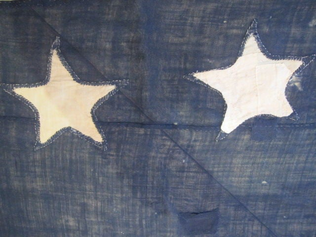 13-Star Eagle American Ship Swallow-Tailed Pennant Flag. For Sale 4