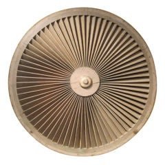 Oversized Architectural Louvred Vent Wheel