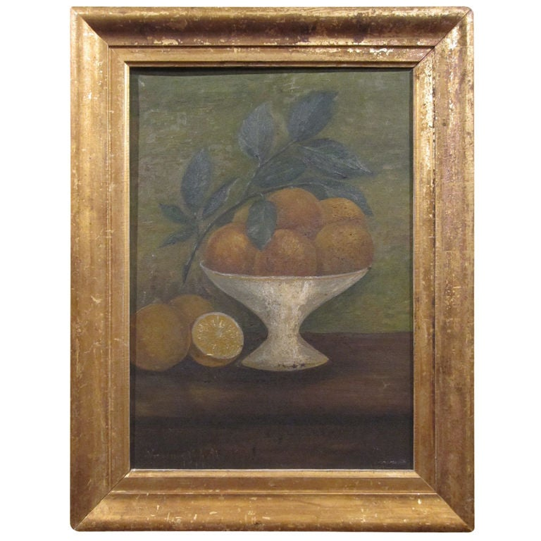 Still Life.  Compote of Fruit. For Sale